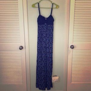 Lilka Geometric Maxi Dress